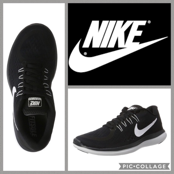 Zapatos Nike Blkwht Flex Run Zapatillas Blkwht Nike 10 Poshmark 2017 89ed9c